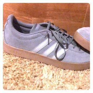 Walk around adidas shoes